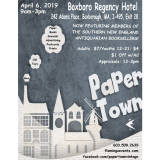 Paper Town - The Vintage Paper,  Book & Advertising Show