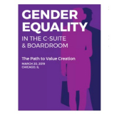 Gender Equality in the C-Suite & Boardroom