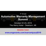 ENG's Annual Automotive Warranty Management USA Summit